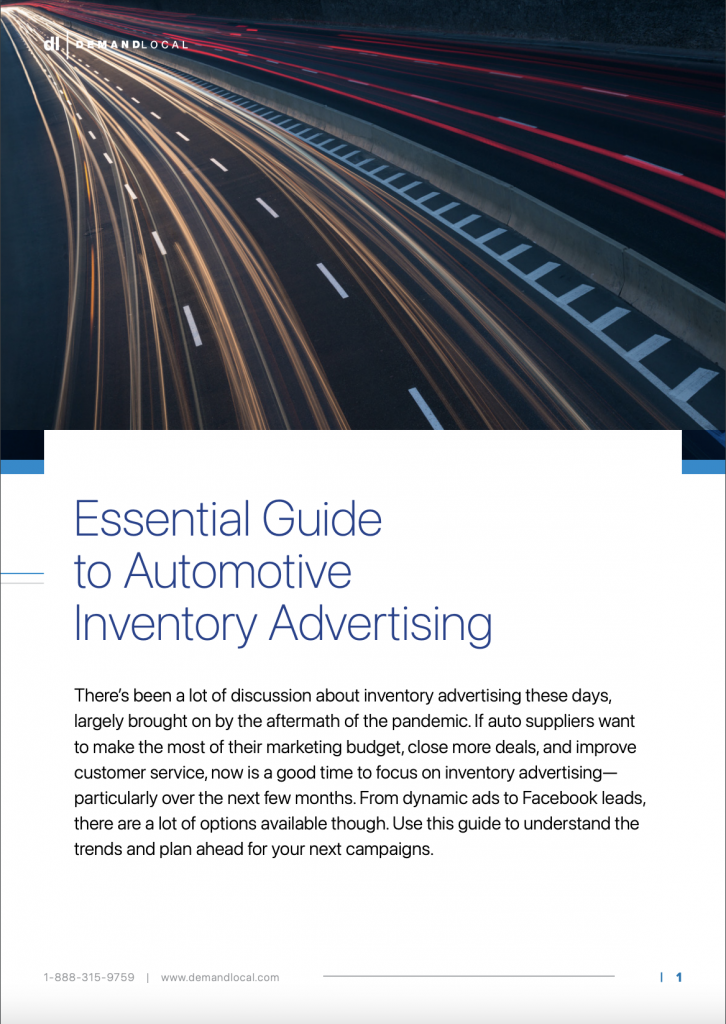 Essential Guide to Automotive Inventory Advertising