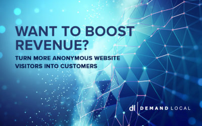 Want to boost revenue? Turn more anonymous website visitors into customers